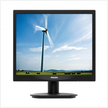 "Монитор 17"" Philips (17S4LSB/62) LCD, 1280x1024, 5ms, 1000:1, VGA, DVI"