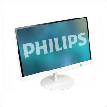 "Монитор Philips 21.5"" 224E5QSW (00/01) белый IPS LED 14ms 16:9 DVI Mat 250cd"
