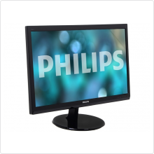 "Монитор 24"" Philips (246V5LSB/00) LED, 1920x1080, 5ms, 10M:1, VGA, DVI"