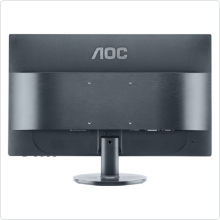 "Монитор 24"" AOC (e2460Sh) LED, 1920x1080, 1ms, 1000:1, VGA, DVI, HDMI, колонки 2x2W"
