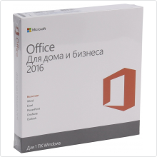 Office Home and Business 2016 32-bit/x64 Russian Russia Only DVD (T5D-02705)