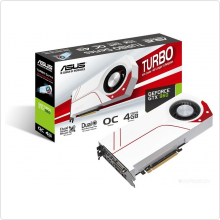 Видеокарта 2048Mb Asus GeForce GTX 960 (TURBO-GTX960-OC-2GD5) 128bit GDDR5 DVI HDMI DP RTL