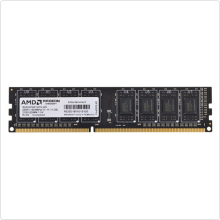 память 2048Mb DDR3 PC3-12800 1600MHz AMD (R532G1601U1S-UO)