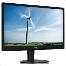 "Монитор 24"" Philips (241S4LCB/00) LED, 1920x1080, 5ms, 1000:1, VGA, DVI"