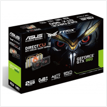 Видеокарта 4096Mb Asus GeForce GTX 960 (STRIX-GTX960-DC2-4GD5) 128bit DDR5 DVI HDMI DP RTL
