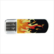 Флеш-накопитель 8Gb Verbatim (Store 'n' Go Mini) USB 2.0, orange (98158)