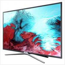 "Телевизор 49"" LED Samsung (UE49K5500AUXRU) Титан, FULL HD, 100Hz, DVB-T2, DVB-C, DVB-S2, USB, WiFi, Smart TV (RUS)"