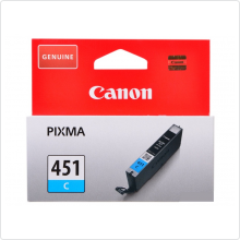 Картридж Canon (CLI-451C) голубой для PIXMA MG6340/MG5440/IP7240 оригинальный