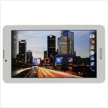 "Планшет 7"" Archos (70b Helium) TFT/8Gb/1024x600/Andr5.1/WiFi/BT/USB/mSD/3G/LTE/multi-touch/Cam/2800мАч/White (503044)"