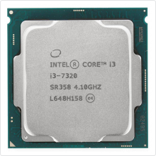 Процессор Intel Core i3-7320 4.1GHz 4Mb LGA 1151 OEM (SR358)