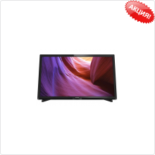 "Телевизор LED 32"" Philips (32PHT4100/60) черный/HD READY/100Hz/DVB-T/DVB-T2/DVB-C/USB (RUS)"